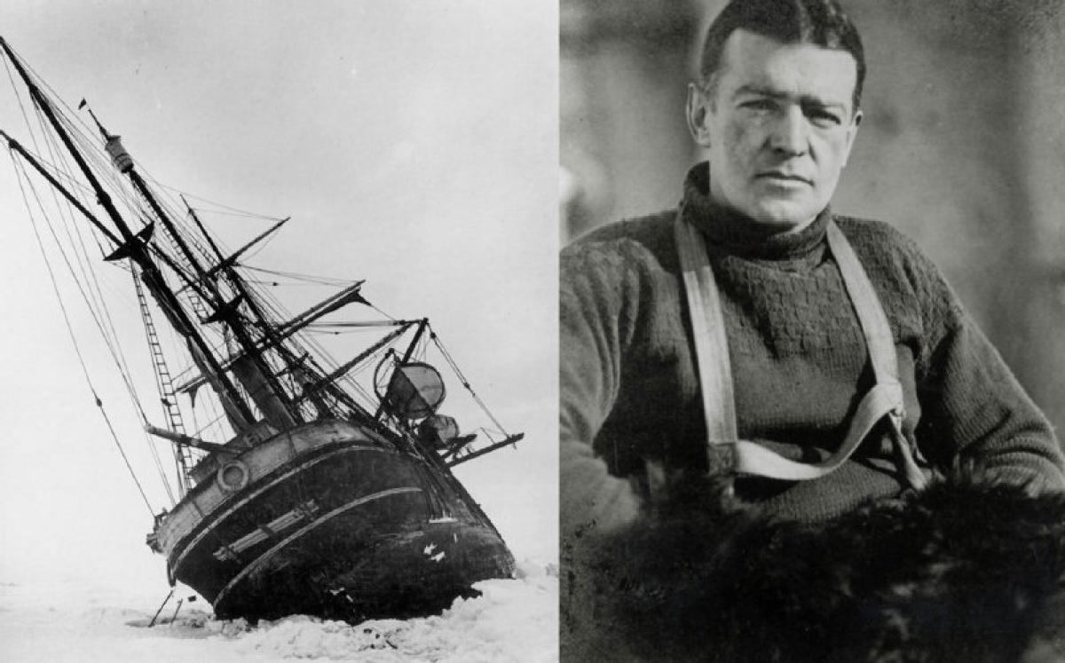 Otimismo - Ernest Shackleton