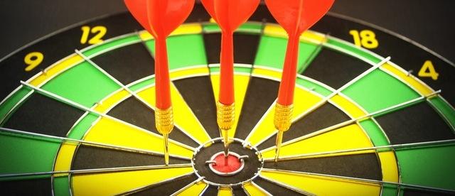 metas e objetivos - tenha poucas metas